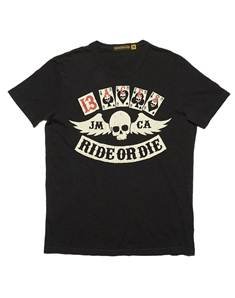 RIDE TEE Silver