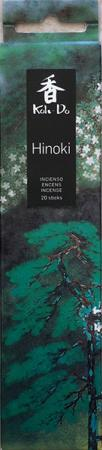 Japanese Incense   Koh-Do   Hinoki (Japanese Cypress)   20 stick box   Low Smoke