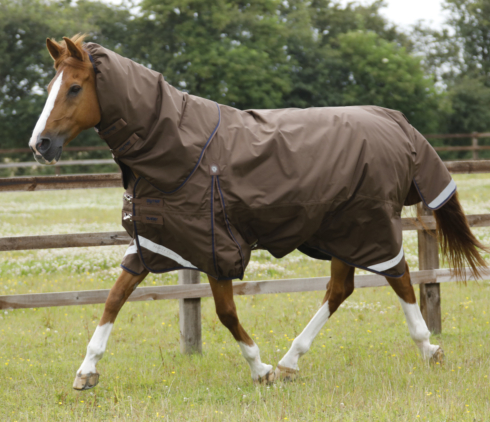Buster 400g Turnout Rug with Neck Cover